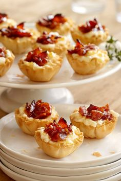 Baked Cheese and Bacon Jam Bites | Safeway - Safeway SELECT Mini Phyllo cups set a crispy stage for these warm, bite-sized shells filled with a creamy and savory mix of Lucerne cream cheese, Safeway SELECT apricot preserves, melted jack cheese and smokey bacon. Perfect as an appetizer or served at brunch!