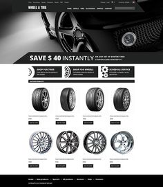 Is this your style?   Wheels and Tyres ZenCart Template CLICK HERE! live demo  http://cattemplate.com/template/?go=2hXqkwv