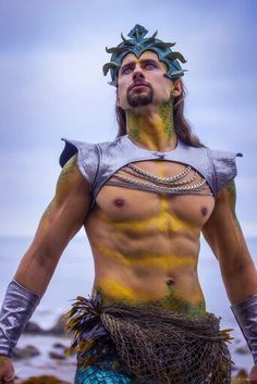 Ruler of the Seas, god of the Horses and feared by his Earthquakes, Poseidon.