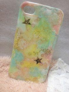 iPhone4 4Sのケースです。表面は樹脂加工を施してあります*|ハンドメイド、手作り、手仕事品の通販・販売・購入ならCreema。