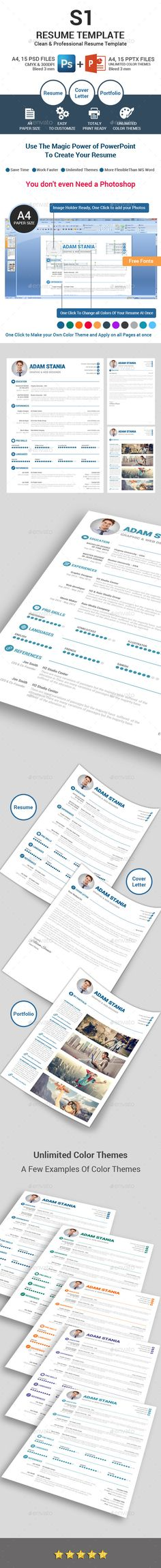 Clean Resume Templates Fonts, Template and Gray - net resume