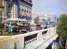Extremely Rare Color Photography of Early 1900s Paris, courtesy of a www.paris-unplugged.com via  http://curiouseggs.com