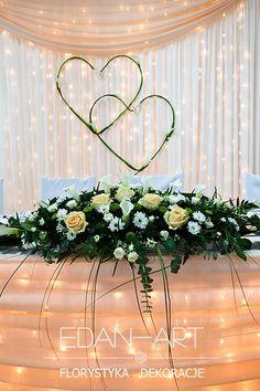 Dekoracje weselne Edan-Art, Kwiaty do ślubu warmińsko-mazurskie.Gardenia Olsztyn  #wesele #slub