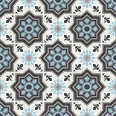 Moroccan Encaustic Cement Pattern 11a