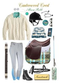 """Canterwood Crest: Alison Robb"" by equine-couture ❤ liked on Polyvore"