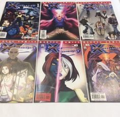 X-men: Evolution #1,2,3,4,5,6 Marvel Comic Books, Wolverine  | eBay