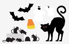 The Project Lady: FREE Printable Halloween Decorations