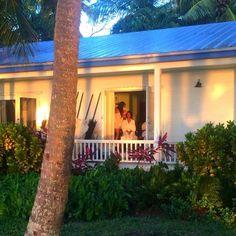 Glamming on shoot in Islamorada, FL via @Lilly Pulitzer Insatagram