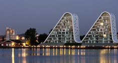 By Henning Larsen Architects, a residential apartment complex. 2010 LEAF award winner