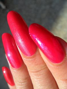 Amazing pink!!!!  http://redpolishorbadpolish.blogspot.com/