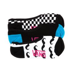 Shop for Womens Vans ChexStache Liners 3 Pack in Assorted at Journeys Shoes. Shop today for the hottest brands in mens shoes and womens shoes at Journeys.com.Keep your socks on the down low with these low liners featuring three different prints with the Vans logo on each. Includes checker and mustache patterns! Three pack.