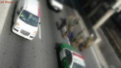 Congestión en autopista Américo Vespucio tras caída de hombre desde pasarela