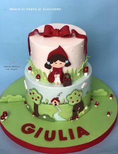 Cappuccetto rosso - cake by Mariana Frascella