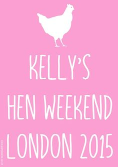 Light Pink Hen Party Add Your Own Message Personalised Poster Ideas Night Fancy Dress Costumes Do And