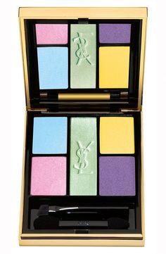 Neon makeup: YSL eye palette, Nordstrom
