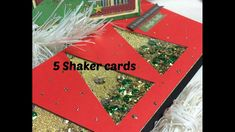 5 Shaker cards Natalizie- Scrapbooking Tutorial | Scrapmary