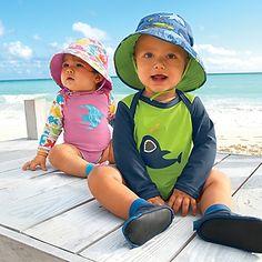 Baby swim suits & sunhats