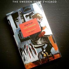 Off to bed with another good book from #theswedenshop #chicago . . . #swedenshop #shopchicago #shop #books #bookstore #book #tovejansson #scandinavian #finnish #fiction #nonfiction #nordic #fairplay #memoir #read #reader #reading