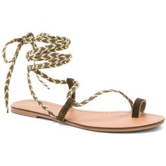 Seychelles Glory Sandals ($60) ❤ liked on Polyvore featuring shoes, sandals, wrap shoes, seychelles footwear, seychelles shoes, synthetic shoes and wrap sandals