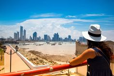 The view of Panama City from Casco Viejo