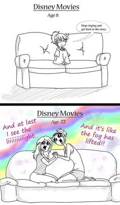 Funny pictures about Watching Disney Movies Then And Now. Oh, and cool pics about Watching Disney Movies Then And Now. Also, Watching Disney Movies Then And Now photos. Disney Pixar, Film Disney, Disney And Dreamworks, Disney Songs, Disney Quotes, Disney Villains, Disney Princesses, Disney Frozen, Disney Princess Memes