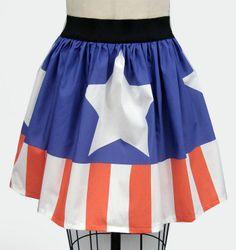 Captain America Skirt