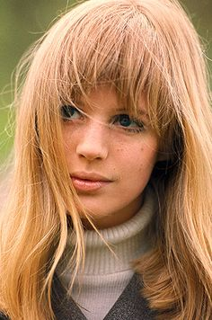 Jean-Marie Perier - Photographe - Marianne Faithfull 1965
