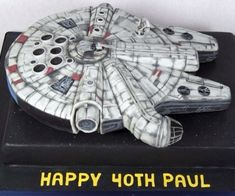 Awesome Millennium Falcon Birthday Cake on Global Geek News.