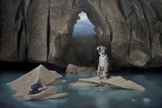 Beasts of Arcadia – Les nouvelles peintures surréalistes de Joel Rea (image)