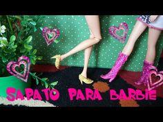 Como fazer sutiã para Barbie - YouTube
