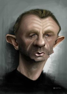 Daniel Craig by Rafael Natal