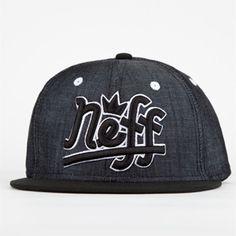 76ee8d52032 NEFF Brooks Mens Snapback Hat