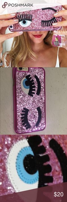 Eye glitter case for iphone 7 Brand new in package for iphone 7 - hard plastic material made of glitter material - opening ls for ports and buttons Accessories Phone Cases