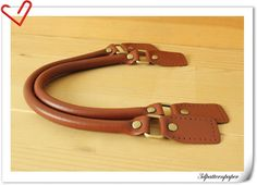 Leather handles for purse bag making 165 inch by 3Dpatternpaper