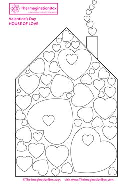 'House of Love' free printable