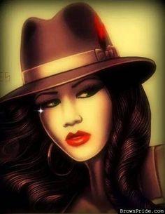 Pretty Chola Chicana Arte