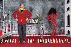 """Christian Louboutin and the Art of Desire <3  """"Shoes have to seem of sex,"""" Louboutin says, his sonorous tones bouncing off the creaky wooden floorboards. """"It makes part of the identity of my shoes."""""""