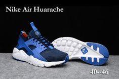 eb096a176f222 The NewWinter Men s Nike Air Huarache Run Ultra PK4 KPU Casual Sports Shoes  Dark blue Sky blue