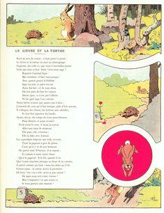 Benjamin Rabier - La Fontaine   K - Auteurs