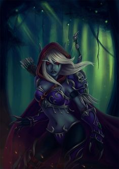Sylvanas by cibo-black-cat.deviantart.com on @deviantART