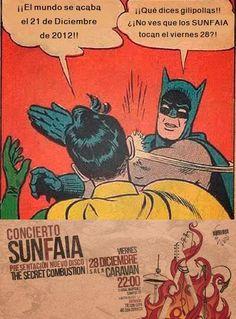 Batman, Robin & Sunfaia