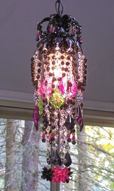A Little Bohemian Magic Chandelier