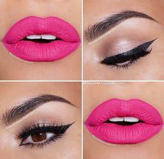 Pretty color lipstick