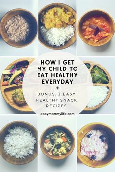 How I Get My Child To Eat Healthy Every Day – Easy Mommy Life Mother's worry about providing healthy food for family and promoting healthy eating habits. Here are tips on how to get your toddler to eat healthy everyday. Yes, it includes greens! Healthy Eating Habits, Healthy Snacks, Healthy Recipes, Eat Healthy, Healthy Kids, Healthy Eating For Children, Healthy Living, Healthy Toddler Meals, Simple Recipes