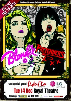 Blondie & The Pretenders-now this would be cool