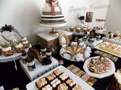 Leopard birthday party! See more party ideas at CatchMyParty.com!