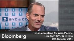 Watch this Bloomberg Asia Pacific interview with Eric Syz, - of SYZ & CO SA, broadcast at HKT on