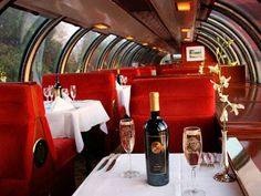 Idea for a Napa Valley wine Train or trolley,  but this is in Europe