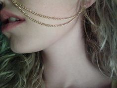 Nose+to+Ear+Chain+by+knifetomeatyou+on+Etsy,+$10.00