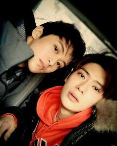 Mark Lee 마크 리 and Jaehyun 재현 Nct 127, Mark Lee, Winwin, Taeyong, Zen, Sm Rookies, Jung Jaehyun, Jaehyun Nct, Lucca